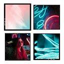 Neon Collage Frame - Instagram Post item