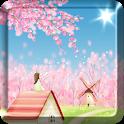Sakura Live Wallpaper FREE icon