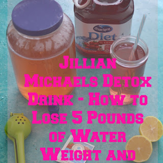 How to Lose 5 Pounds Jillian Michaels Detox Drink.