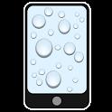 Nasses Glas icon