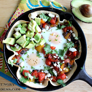 Huevos Rancheros Skillet Recipe for #SundaySupper