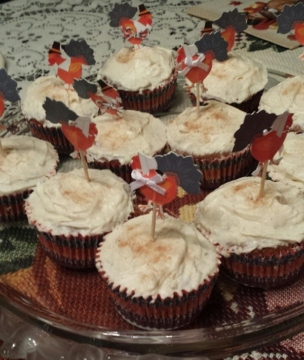 Carrot And Apple Spice Cupcakes Recipe