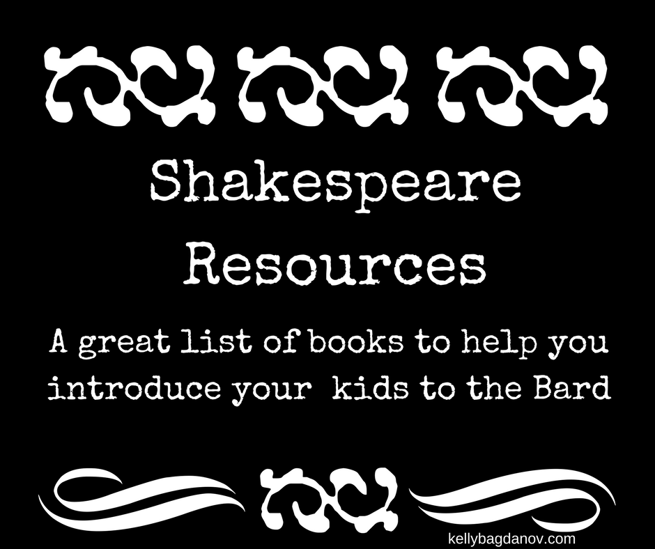 Great list of resources for teaching Shakespeare