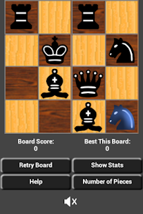 4x4 Solo Mini Chess Brain Teaser Puzzle Games- screenshot thumbnail