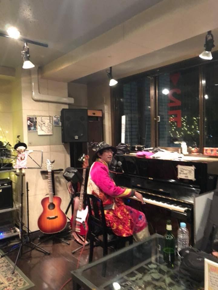 「ひんでんさん、ピアノ弾けたんですね。」@西荻ジジアナベル。2018/02/09 Fri [Zizi Open Mic] (ホスト : Manatsu)