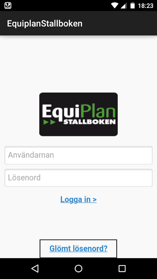 Equiplan- screenshot