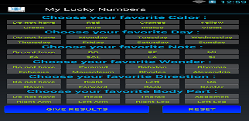 Today lucky numbers - Apps on Google Play