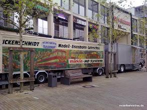 Photo: Porschestraße,Stadtmitte Wolfsburg,vor der City Galerie