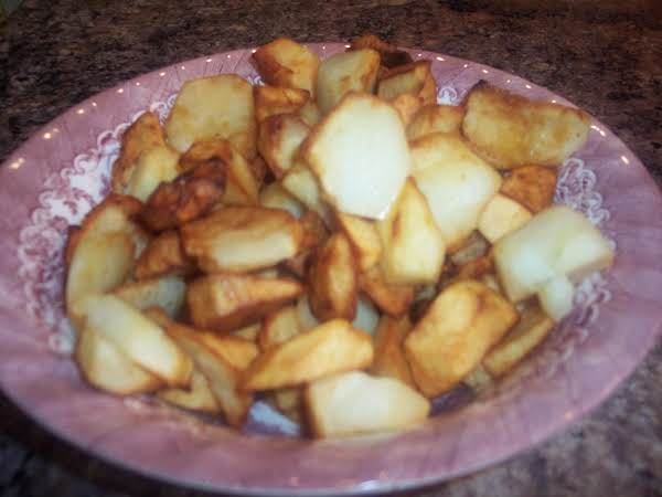These Yummy Fried Potatoes Are Wonderful As A Side With Seafoods, Chicken, Or For Breakfast With Eggs And Bacon Or Sausage.