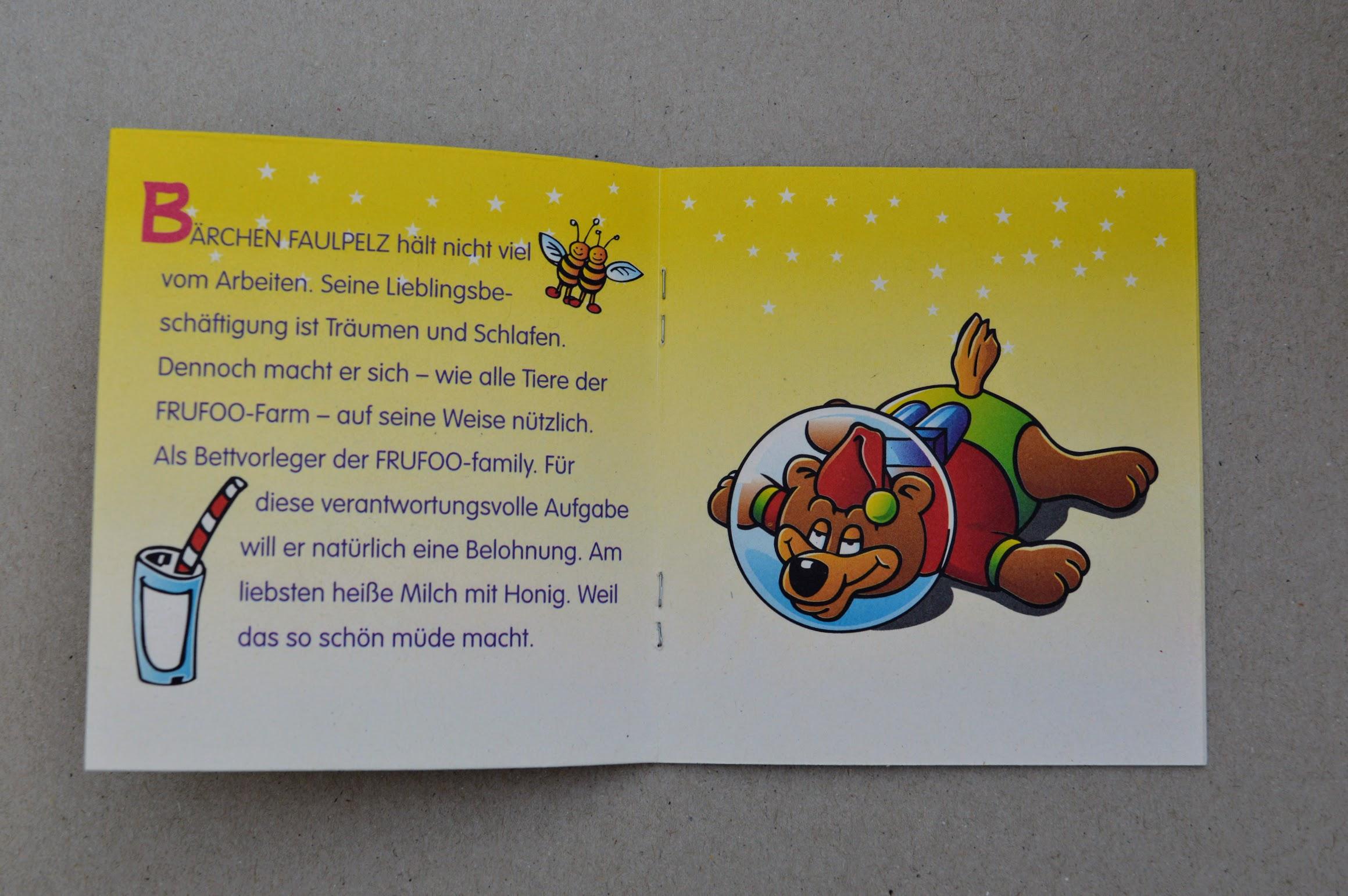 Frufoo Geschichten - Bärchen Faulpelz