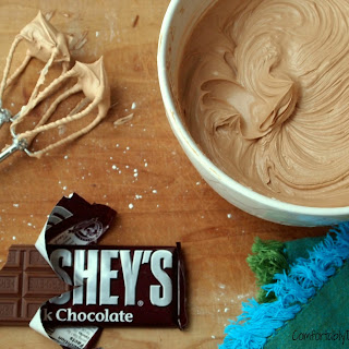 Real Milk Chocolate Buttercream Frosting.
