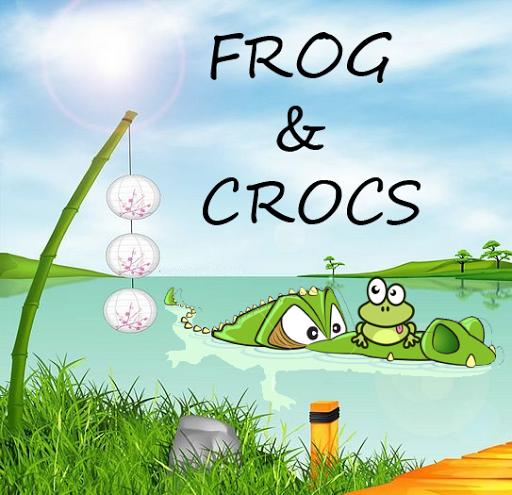 Frog and Crocs