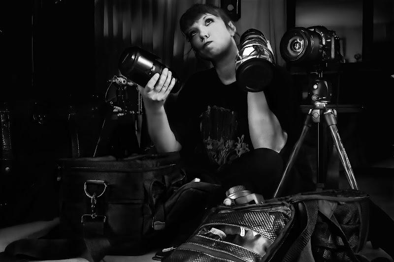 Il dilemma del fotografo di Sara Jazbar