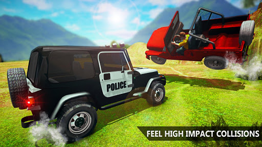 Offroad Police Jeep 4x4 Driving & Racing Simulator 1.7.4 screenshots 5