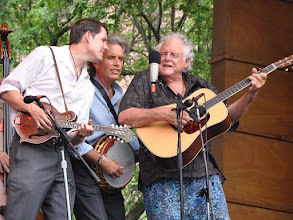 Photo: Peter Rowan, Keith Little and Chris Henry