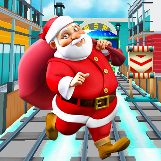 Subway Santa Endless Surf