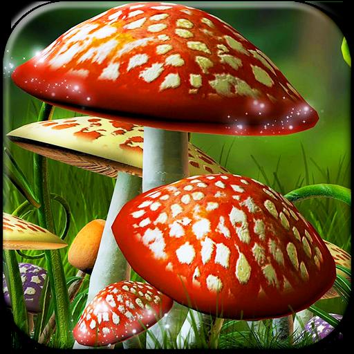 蘑菇动态壁纸 個人化 App LOGO-APP試玩