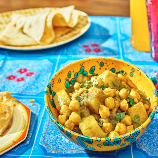 Trini Chana and Aloo