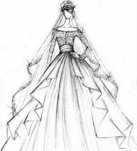 Gambar Sketsa Desain Gaun Pernikahan 1 0 Download Apk Screenshots