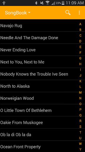 Pickin' and Grinnin' Songbook 2.34 screenshots 1