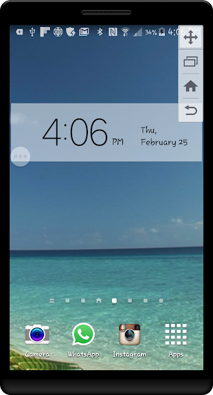 Paradise Island HD LWP- screenshot
