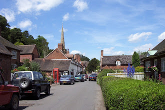 Photo: Worfield Village There were a number of Bishton families living in and around Donington from the C15th. One Robert Bishton b1712 in Boningale moved to Worfield with his wife Elizabeth.