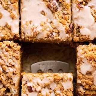 Pumpkin Coffee Cake with Pecan Streusel Recipe