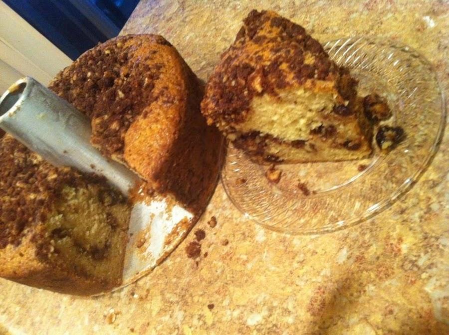 Microwave Sour Cream Cherry Cake