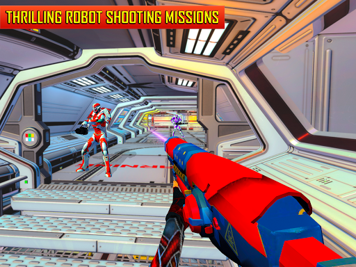 Robot Shooting FPS Counter War Terrorists Shooter 2.8 screenshots 11