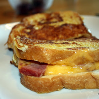 Grilled Ham and Cheese - Roman Style - Monte Cristo