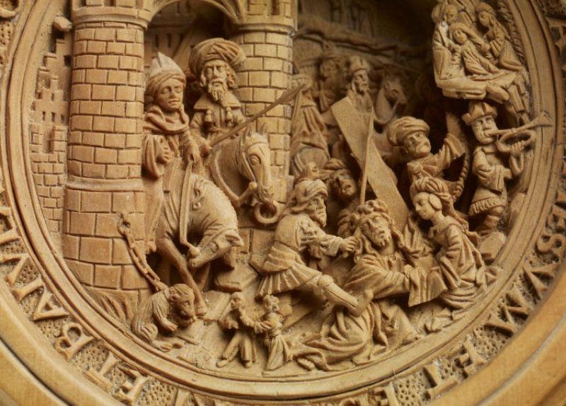 Castanha de oração, um raro objeto de fé
