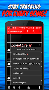 Write Songs Songwriting Lyrics screenshot 6