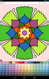 Mandalas coloring pages (+200 free templates) APK screenshot thumbnail 3