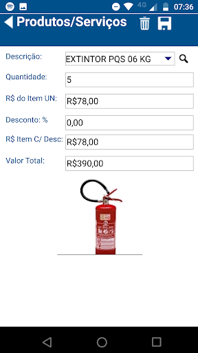 CAD Vendas screenshot 4