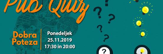 Pub Quiz - 25.11.2019
