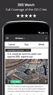 ISIS Watch - Newsfusion - náhled