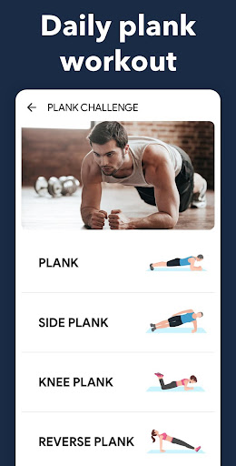 Plank Workout at Home - 30 Days Plank Challenge screenshot 4