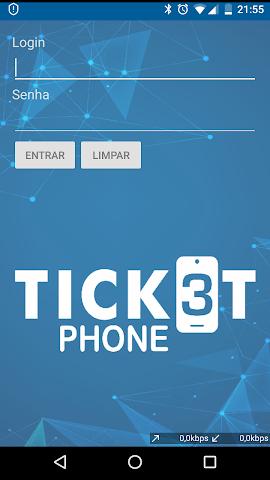 android TicketPhone - Produtores Screenshot 1