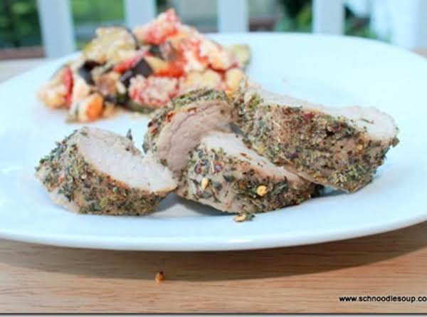 Herb Pork Tenderloin Recipe