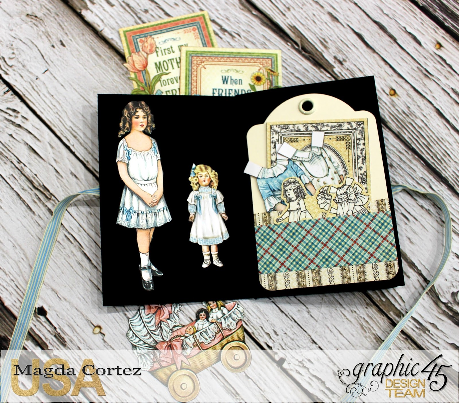 Penny's Color My World - Penny's Family Paper Doll By Magda Cortez, Product of Graphic 45, Photo 05 of 11 with Tutorial.jpg
