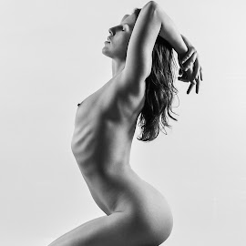 by Shawn Crowley - Nudes & Boudoir Artistic Nude ( film, pentax 6x7, woman, strong women, portrait )