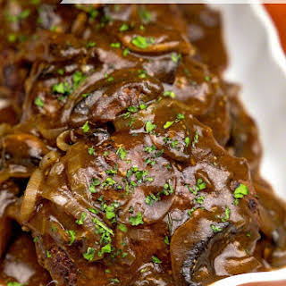 Chopped Sirloin Patties with Savory Gravy.