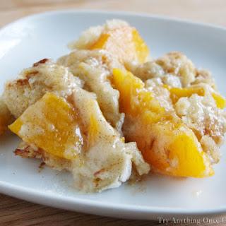 Peach Cobbler No Butter Recipes.