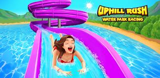 Uphill Rush Water Park Racing poster