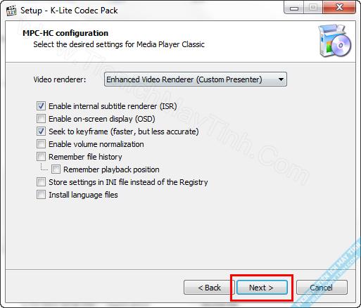 Download K-Lite Codec Pack Decoder Latest