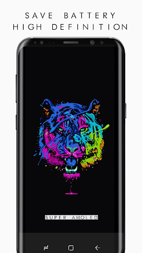 OLED 4K PRO Wallpapers  (2960x1440) Appar för Android screenshot