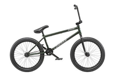 "Radio 2019 Comrad 20"" Complete BMX Bike 21"" Top Tube Green Flake"