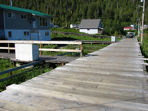Photo: Hartley Bay very wisely uses boardwalks instead of streets.