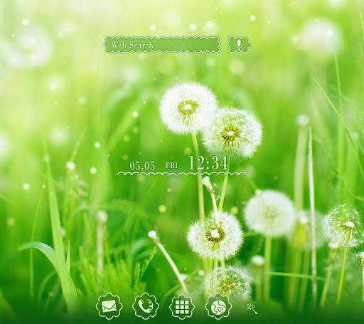 Lovely Wallpaper Dandelion 1.0.0 Windows u7528 1