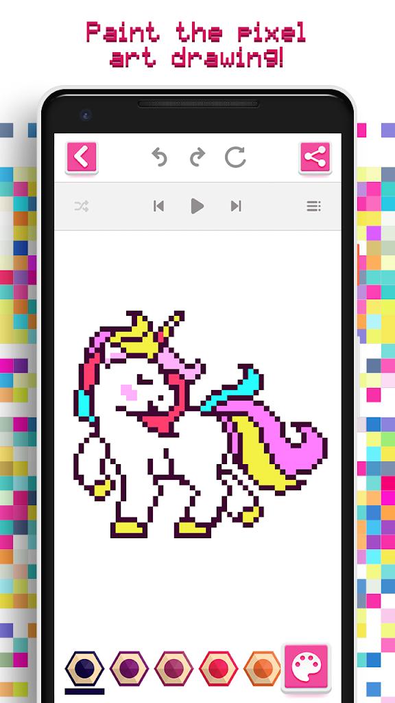 Tek Boynuzlu Boyama Oyunu Android Icin Apk Indir